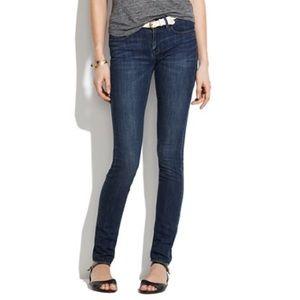 Madewell Skinny Skinny Western Wash Jeans